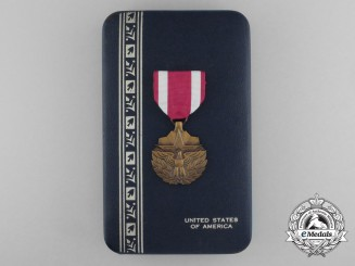 An American Meritorious Service Medal with Case