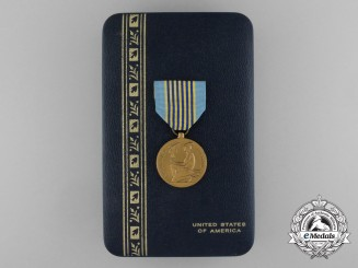 An American Airman's Medal with Case