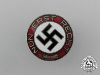 """A NSDAP """"Now More Than Ever"""" Party Member's Badge"""