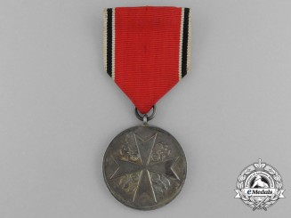 A German Eagle Order Silver Merit Medal by Pr. Münze of Berlin