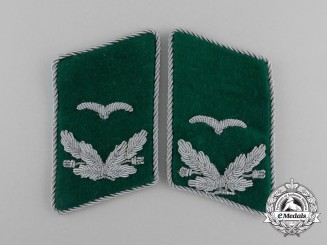 A Mint and Matching Set of Luftwaffe Field Division Lieutenant Collar Tabs