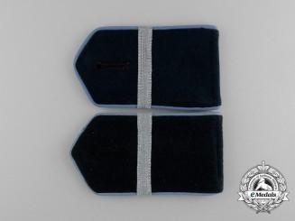 A Mint Set of Second War German Volunteer Army Turkistan Legion NCO's Shoulder Straps