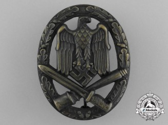 An Early & Mint General Assault Badge in Tombac
