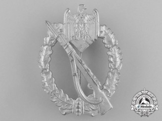 A Mint Silver Grade Infantry Assault Badge