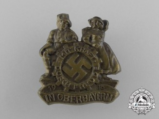 A 1936 KDF Oberbayern Event Badge