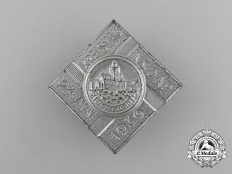 A 1936 NSDAP Wartburg District Council Day Badge