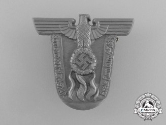 A 1939 NSDAP District Hamburg Summer Solstice Badge