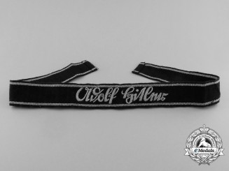 "An SS Officer's ""Leibstandarte"" AH Cufftitle"