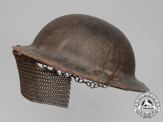 A First War Mark II Tanker's Helmet