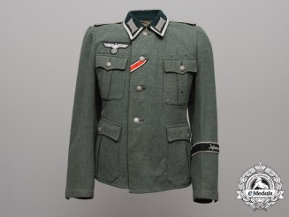 "An Army Infantry Unteroffizier Enlisted Man's Tunic; ""Infanterie-Regiment List"