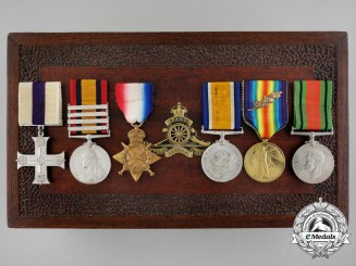 "A Great War ""Salonika"" Military Cross Awarded to Captain Charles Sutton"