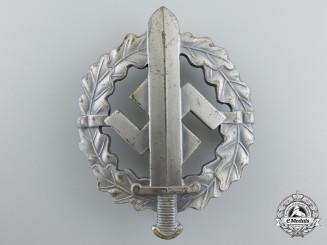 A Mint Silver Grade SA Sport Badge by W.Redo