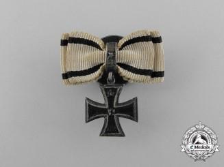 An Iron Cross 1914 Second Class Boutonniere by Godet & Sohn of Berlin
