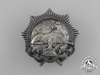A German Colonial War Veterans Organization Badge