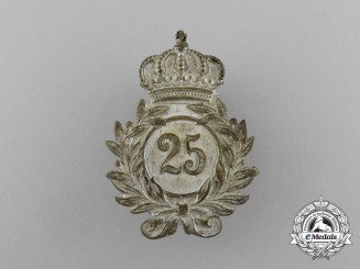 A German Imperial Veteran's Twenty-Five Year Membership Badge