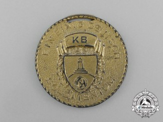 "A 1939 American Kyhffhäuser League ""Day of German Soldiers"" Commemorative Medal"