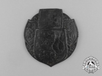 A Second War Era Czech Helmet Plate