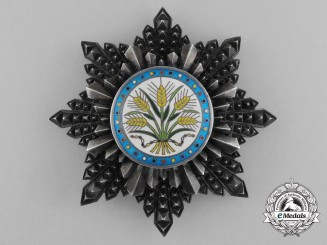 A Chinese Order of the Golden Grain 2nd Class Breast Star; Kuomintang Era 1928-1949