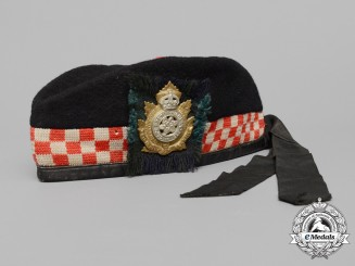 A First War Cape Breton Highlanders Glengarry Cap
