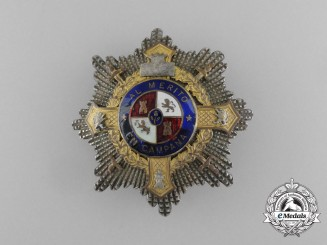 A Spanish War Cross Type I (1938-1942)