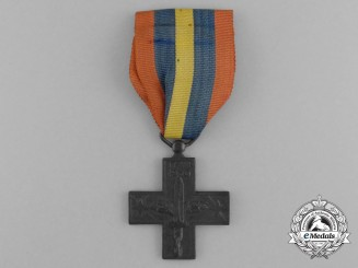 A War Cross for Italian Volunteers in Spain 1936