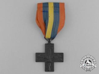 Italy, Fascist State. A War Cross for Italian Volunteers in Spain 1936