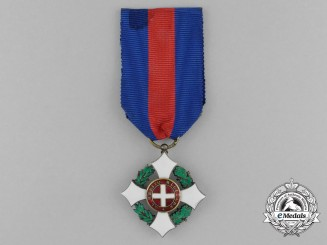 A First War Italian Military Order of Savoy; Knight Type II