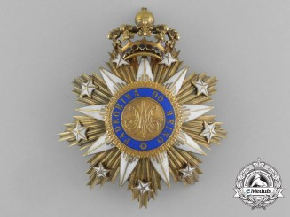 A Portuguese Order of the Immaculate Conception of Vila Viçosa; Breast Star