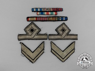 Six Italian Cloth Insignia