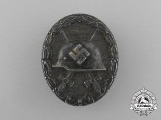 A Second War German Silver Grade Wound Badge