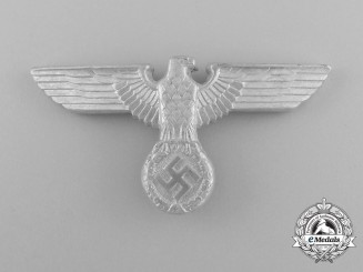 A Fine Quality Mint Wehrmacht Heer (Army) Cap Eagle by C. Dinsel