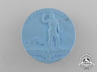 A 1939 NSDAP Oberdonau Region Council Day Badge