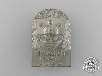 """A 1934 Werlsee """"Pride of the Home"""" Festival Badge"""