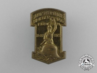 A 1929 3rd Munich Reichs Remembrance Day Badge