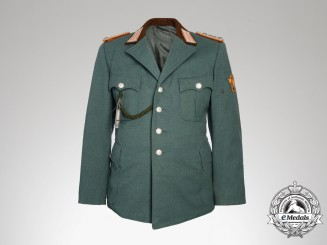 A Reich Protection Gendarmerie Headquarters Head Guard Tunic