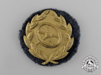A Gold Grade Luftwaffe Driver's Proficiency Badge