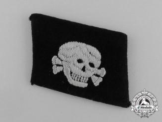 A Waffen-SS EM/NCO's Totenkopf Collar Tab