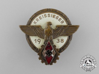 A 1938 HJ Victor's Badge in the National TRade Competition by Gustav Brehmer