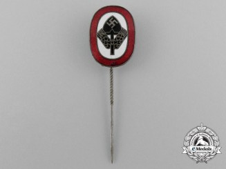 A RAD (National Labour Service) Membership Stick Pin