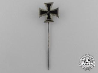 A Fine Miniature Iron Cross 1939 Stick Pin