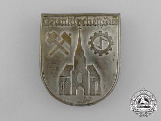 A Saar Neunkirchen Winter relief of the German People Donation Badge