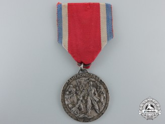 An 1863 French Foreign Legion Battle of Camerón Medal