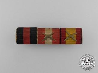 A Second War & Spanish Civil War Ribbon Bar