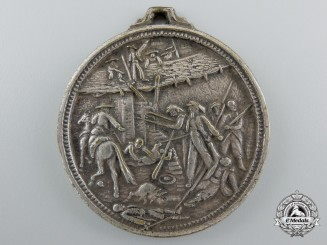 An 1863 French Foreign Legion Battle of Camerón Commemorative Medal