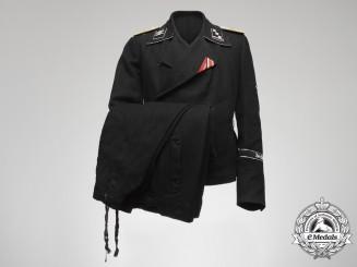 """A Waffen-SS Panzergrenadier Regiment 4 """"Der Führer"""" Obersturmführer Rank Uniform"""