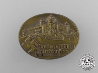 A 1935 NSDAP Mainfranken District Council Day Badge