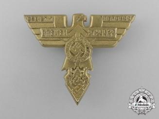 A 1935 HJ Region 7 (Bremen) Reichs Day of Sport Badge