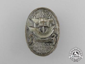 A 1933 North Sea Bremen Regional Meeting Badge