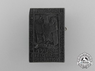A 1938 HJ Neunkirchen Camping Expedition Badge