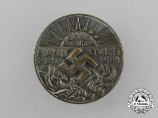 A 1934 Hannover Summer Solstice Badge